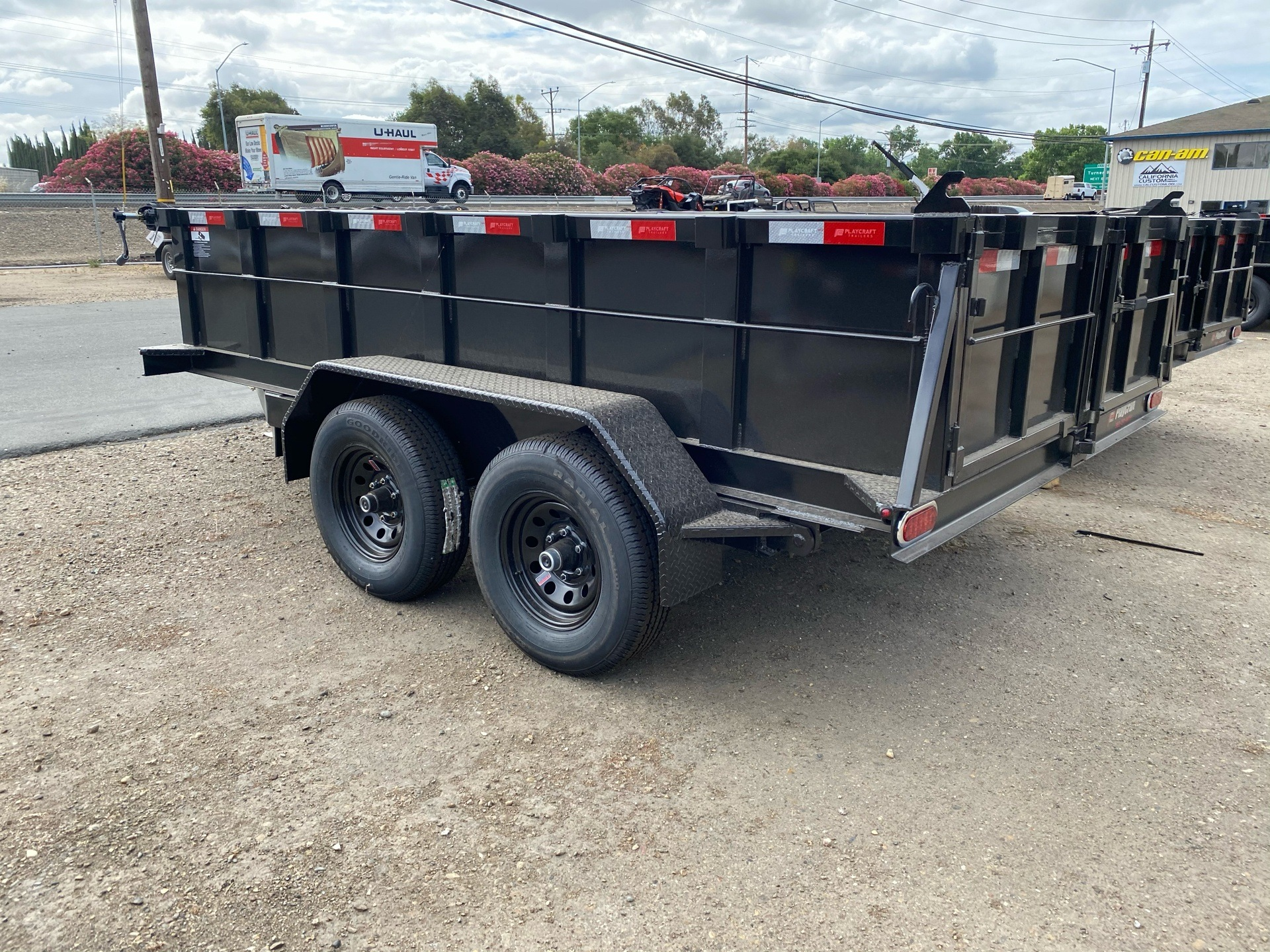 2020 Playcraft Trailers 6' x 12' Dump Trailer in Acampo, California - Photo 6