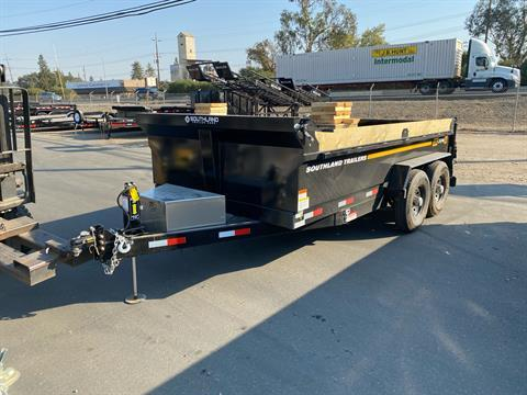 2021 SOUTHLAND TRAILER CORP SL714 16K DUMP TRAILER in Acampo, California - Photo 1