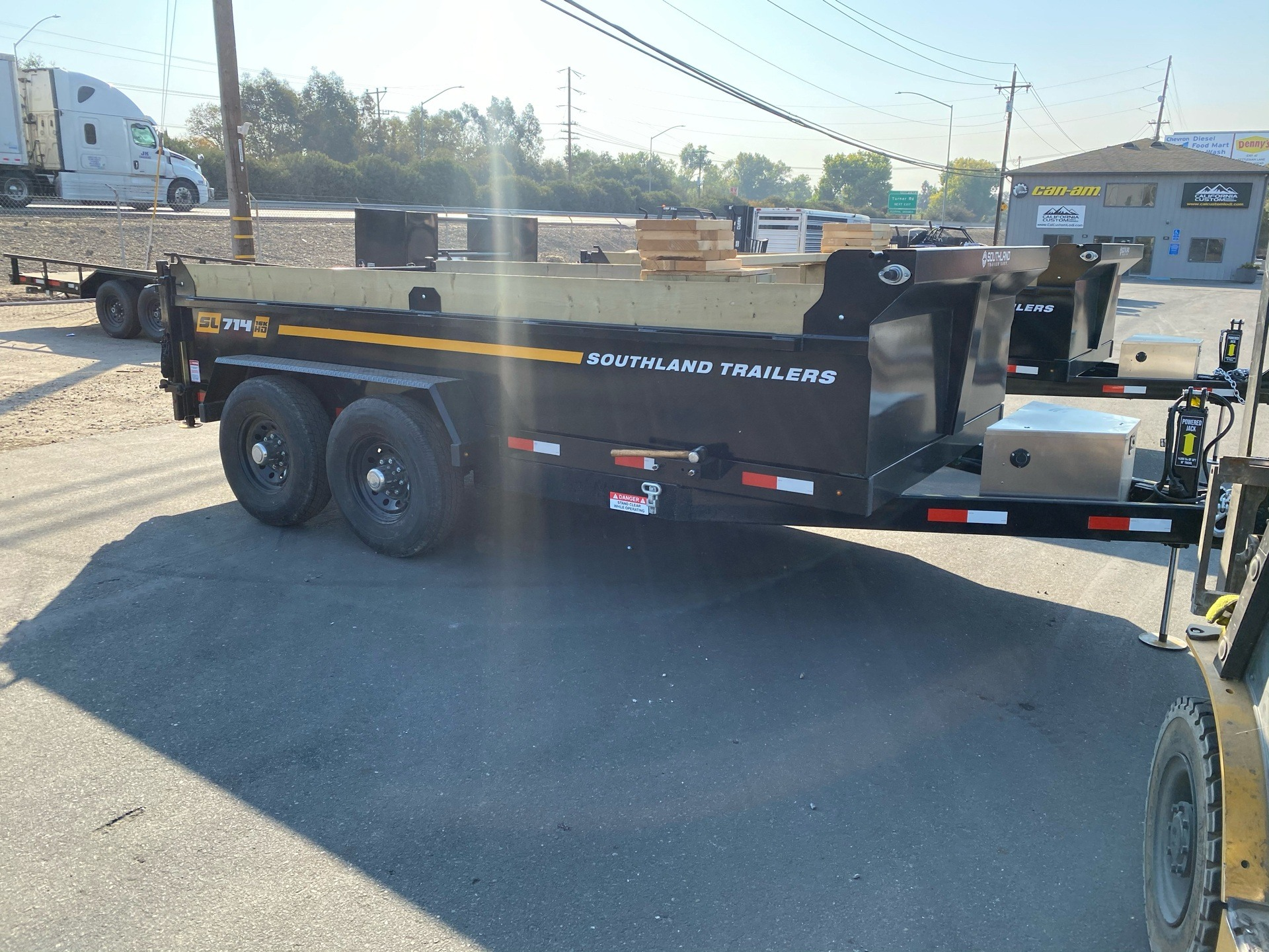 2021 SOUTHLAND TRAILER CORP SL714 16K DUMP TRAILER in Acampo, California - Photo 4