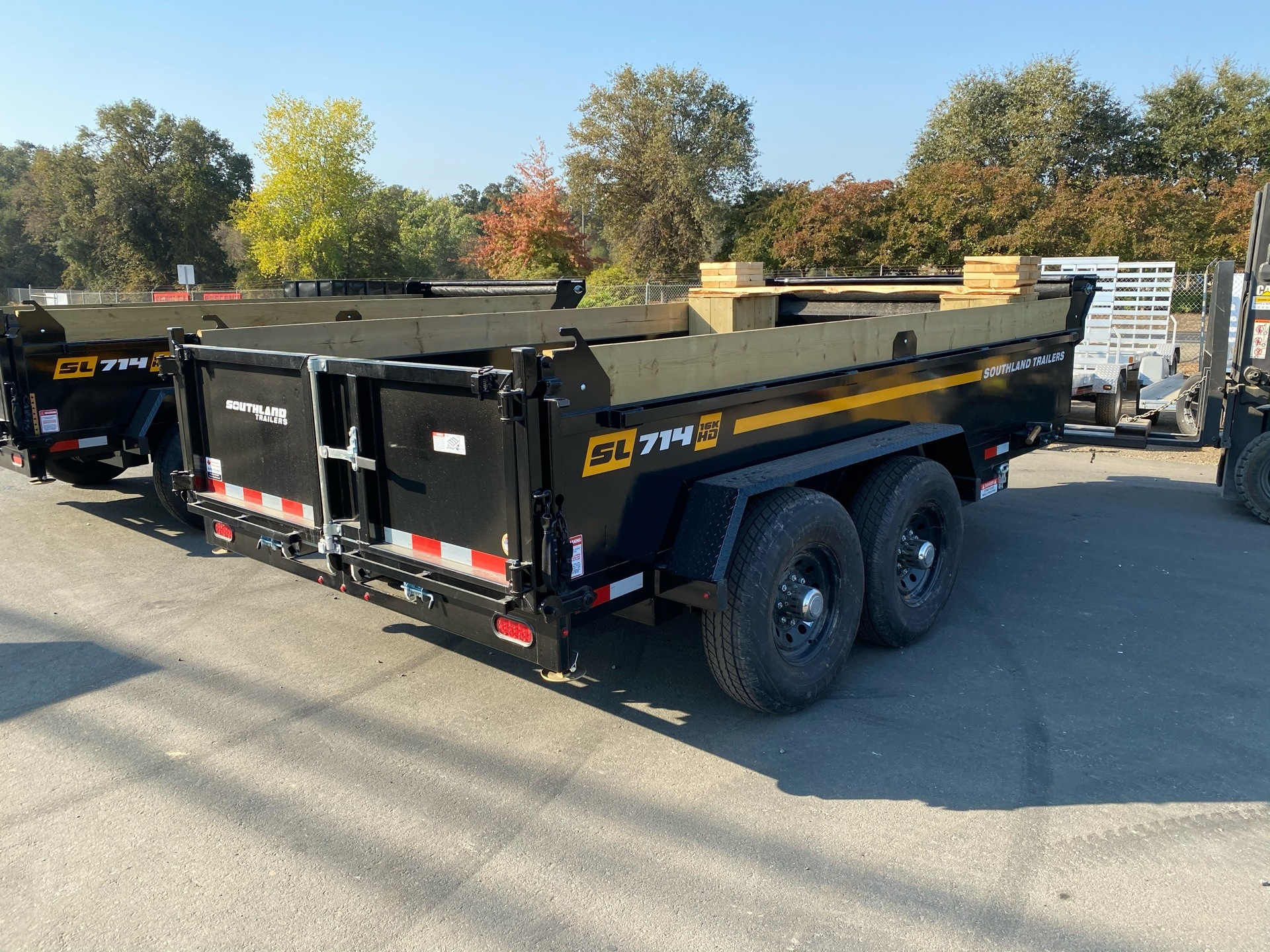 2021 SOUTHLAND TRAILER CORP SL714 16K DUMP TRAILER in Acampo, California - Photo 7