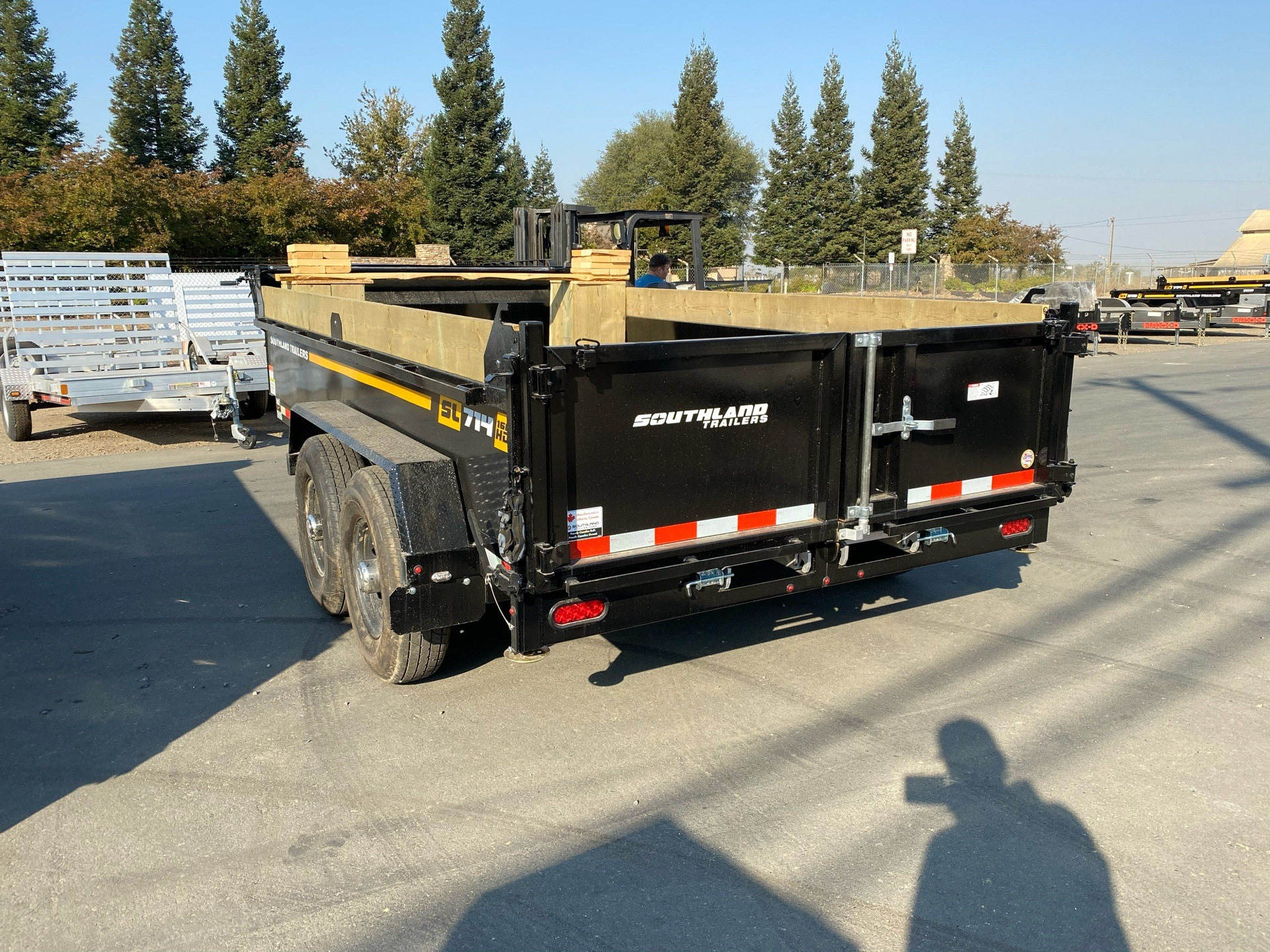 2021 SOUTHLAND TRAILER CORP SL714 16K DUMP TRAILER in Acampo, California - Photo 9
