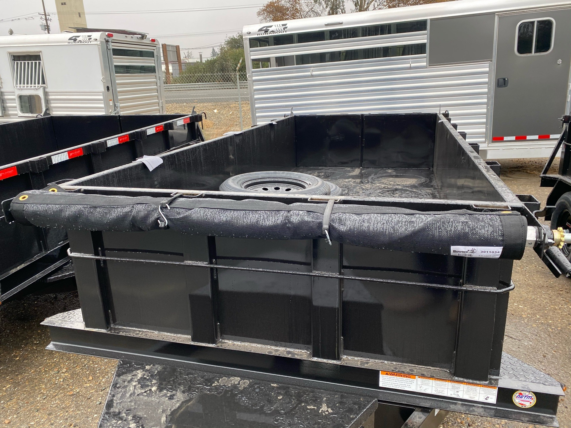 2021 Playcraft Trailers 12' x 5'  Dump Trailer in Acampo, California - Photo 3