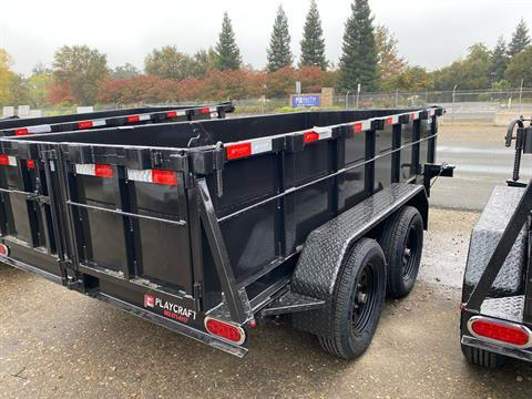 2021 Playcraft Trailers 12' x 5'  Dump Trailer in Acampo, California - Photo 5