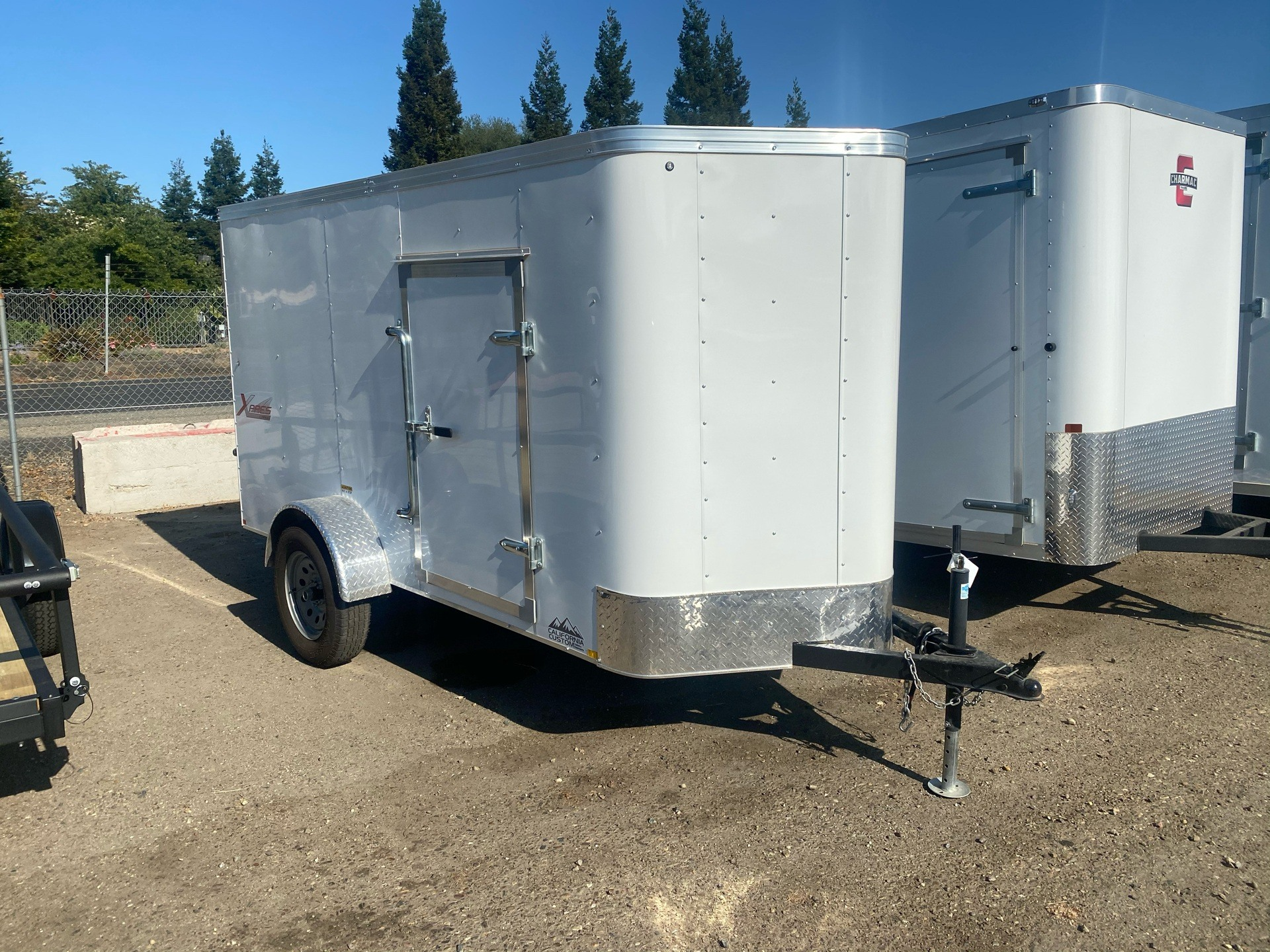 2020 TNT Trailers 12'  X 5' SA CARGO TRAILER in Acampo, California - Photo 1