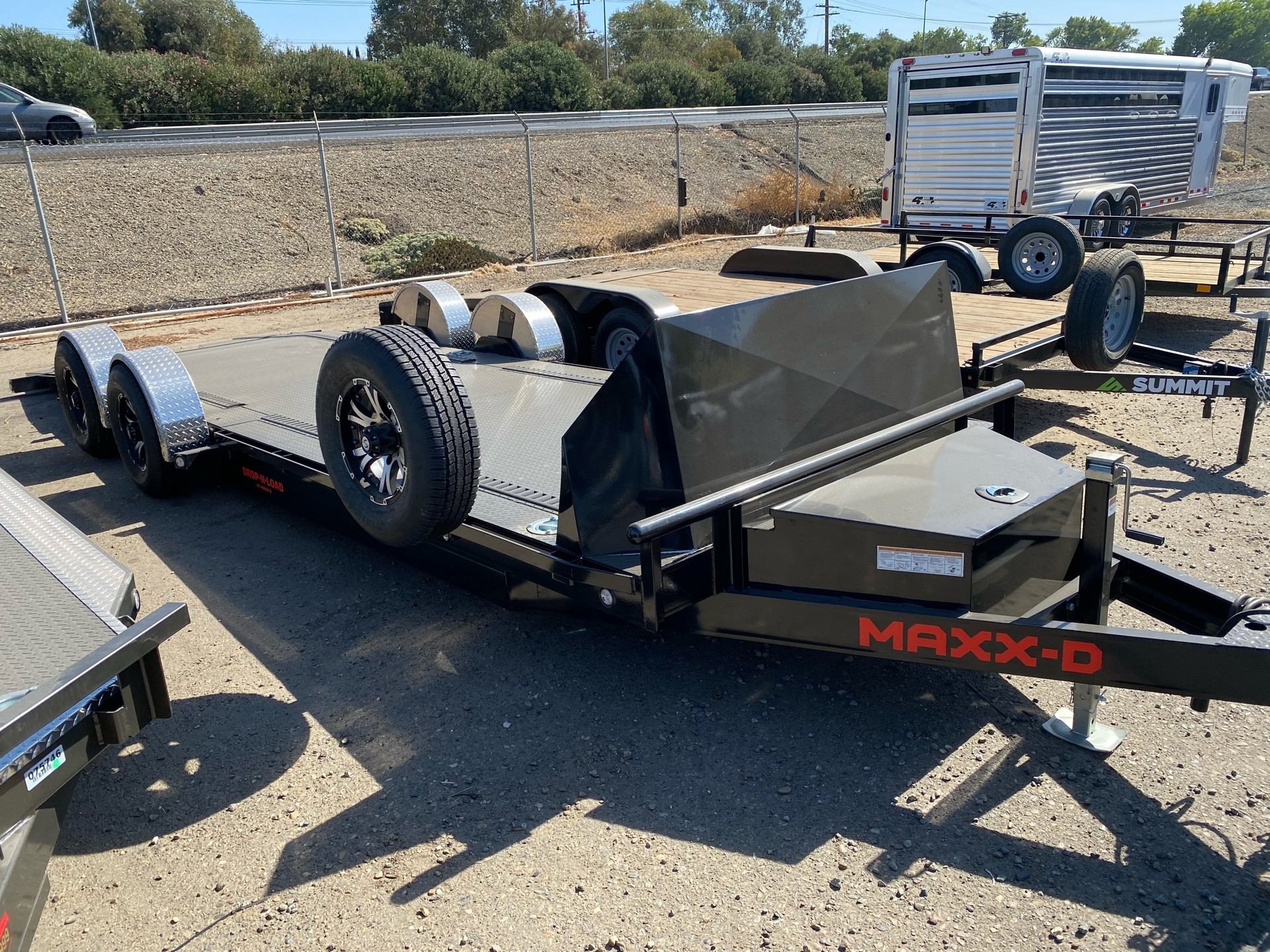 "2021 Maxey Trailers 24' X 80"" DROP-N-LOAD in Acampo, California - Photo 4"
