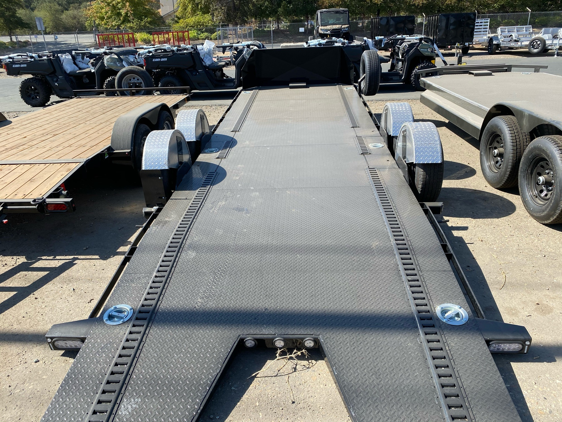 "2021 Maxey Trailers 24' X 80"" DROP-N-LOAD in Acampo, California - Photo 9"