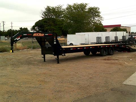 "2019 MAXEY TRAILERS 26' X 102"" FLATBED in Merced, California"
