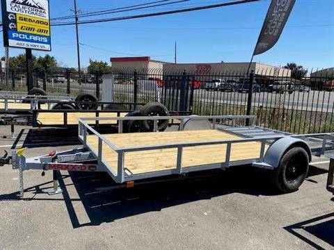 "2021 MAXEY TRAILERS 14' X 83"" WS SINGLE AXLE UTILITY in Merced, California - Photo 2"