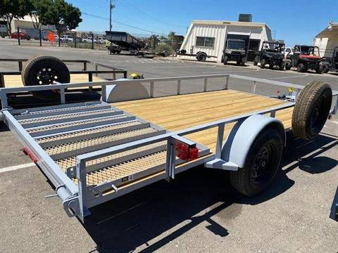 "2021 MAXEY TRAILERS 14' X 83"" WS SINGLE AXLE UTILITY in Merced, California - Photo 3"