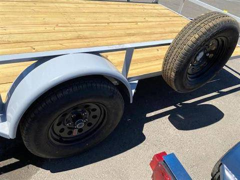 "2021 MAXEY TRAILERS 14' X 83"" WS SINGLE AXLE UTILITY in Merced, California - Photo 4"