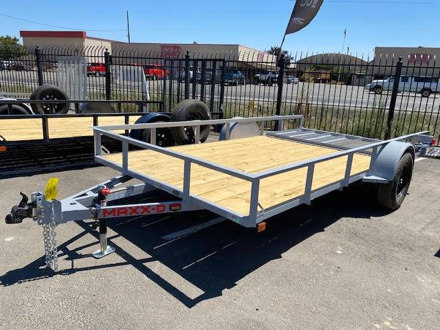 "2021 MAXEY TRAILERS 14' X 83"" WS SINGLE AXLE UTILITY in Merced, California - Photo 1"