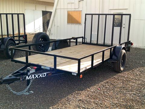 "2019 MAXEY TRAILERS 12' X 77"" SINGLE AXLE UTILITY TRAILER in Merced, California"