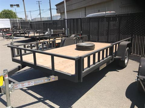 2018 Charmac Trailers 14' x 7' RUGGED STEEL UTILITY TRAILER in Merced, California