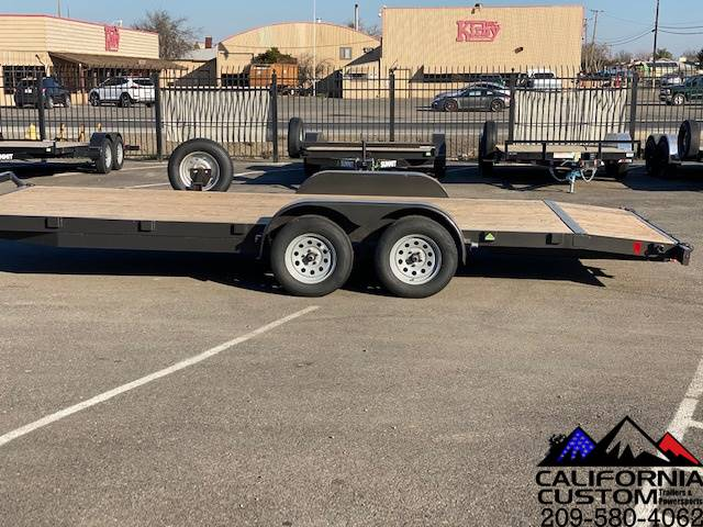 2021 SUMMIT TRAILER MFG 7' X 20' TA FLATBED 7K in Merced, California - Photo 2