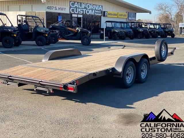 2021 SUMMIT TRAILER MFG 7' X 20' TA FLATBED 7K in Merced, California - Photo 4