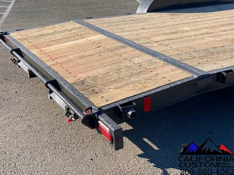 2021 SUMMIT TRAILER MFG 7' X 20' TA FLATBED 7K in Merced, California - Photo 5