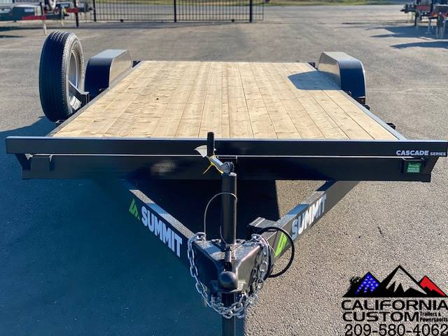 2021 SUMMIT TRAILER MFG 7' X 20' TA FLATBED 7K in Merced, California - Photo 7