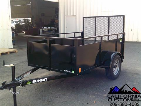 2021 SUMMIT TRAILER MFG 5 X 8 UTILITY in Merced, California - Photo 1