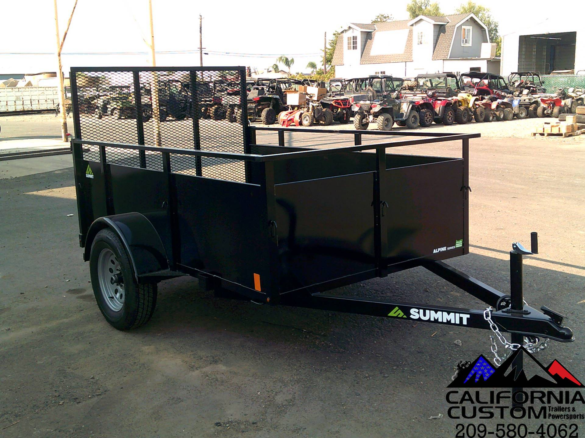 2021 SUMMIT TRAILER MFG 5 X 8 UTILITY in Merced, California - Photo 2