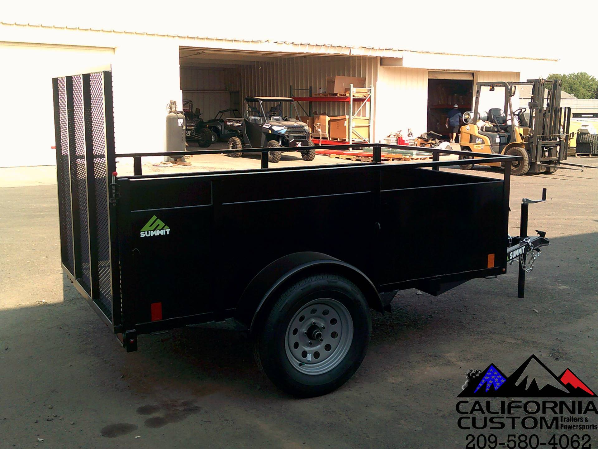 2021 SUMMIT TRAILER MFG 5 X 8 UTILITY in Merced, California - Photo 3