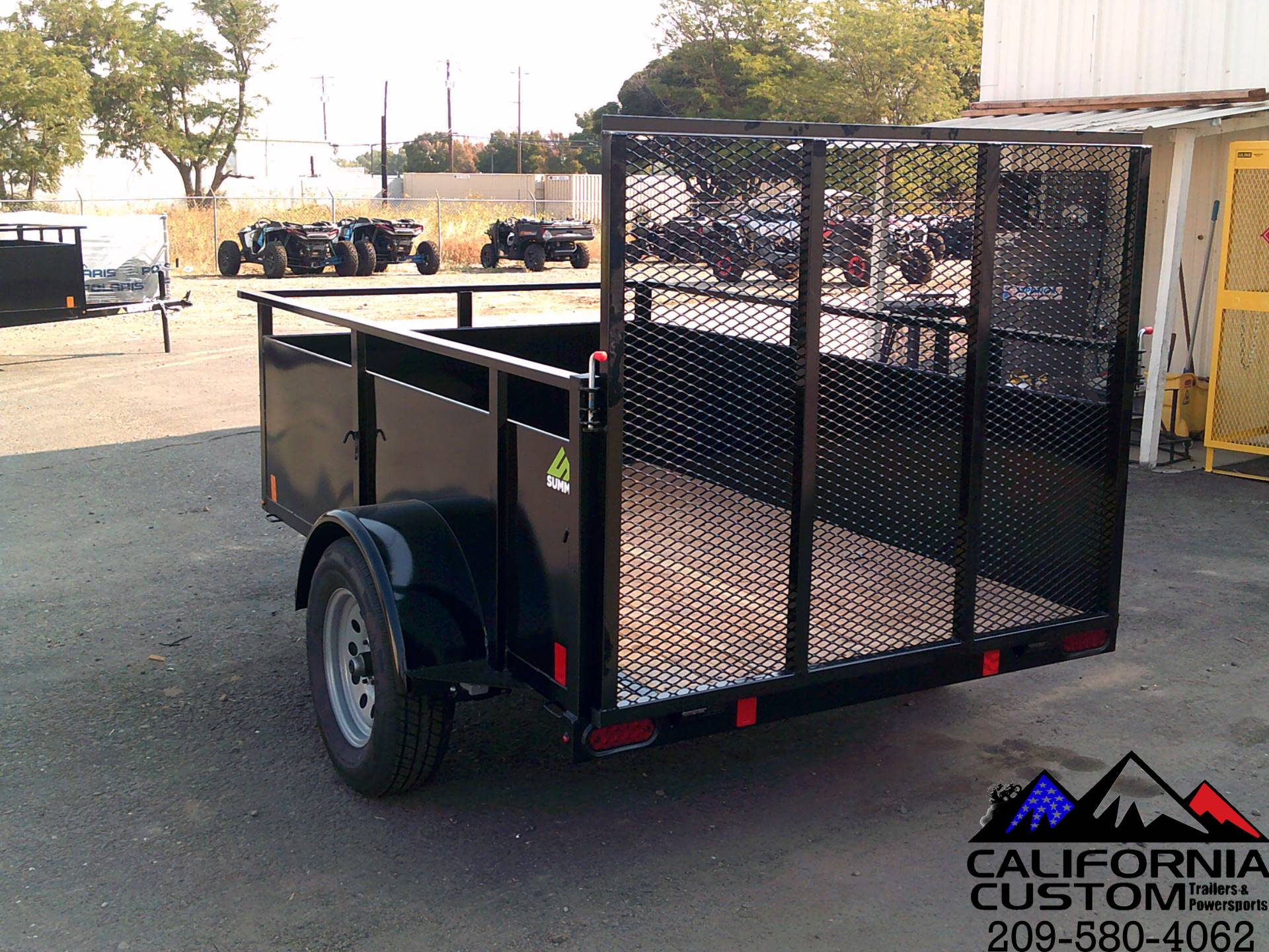 2021 SUMMIT TRAILER MFG 5 X 8 UTILITY in Merced, California - Photo 4