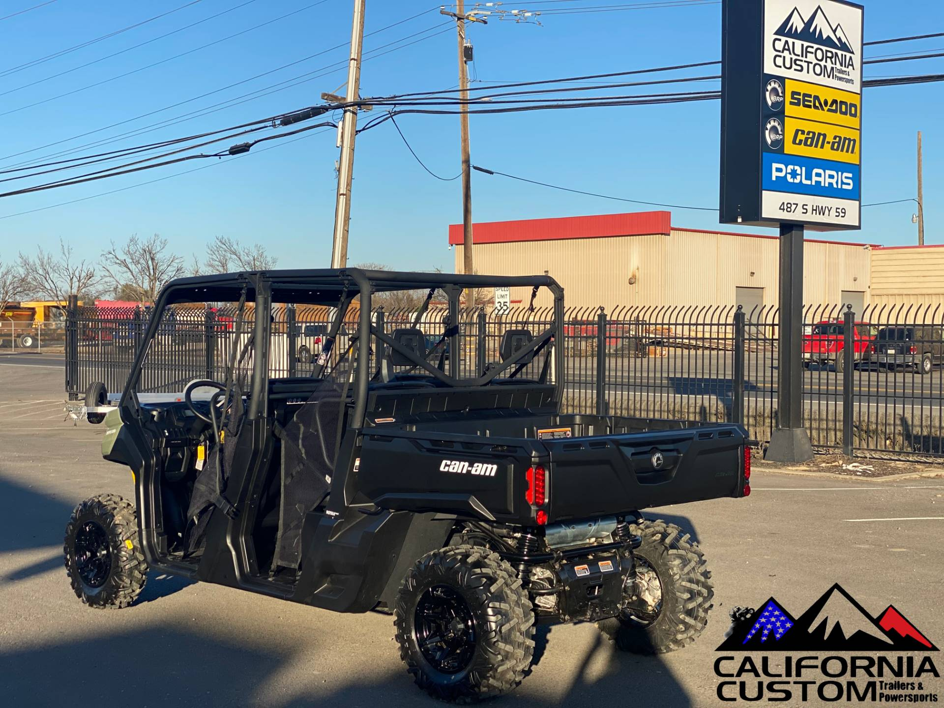 2021 Can-Am Defender MAX DPS HD8 in Merced, California - Photo 3