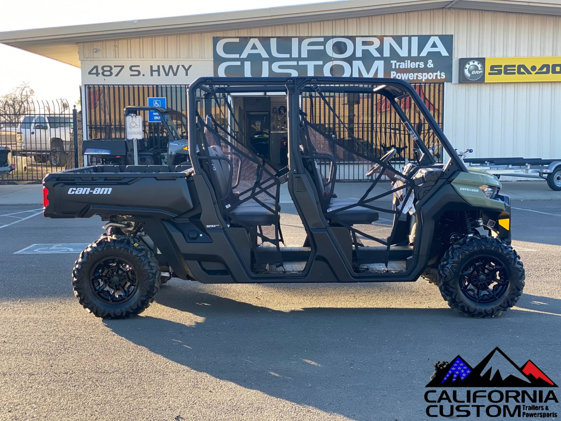 2021 Can-Am Defender MAX DPS HD8 in Merced, California - Photo 6