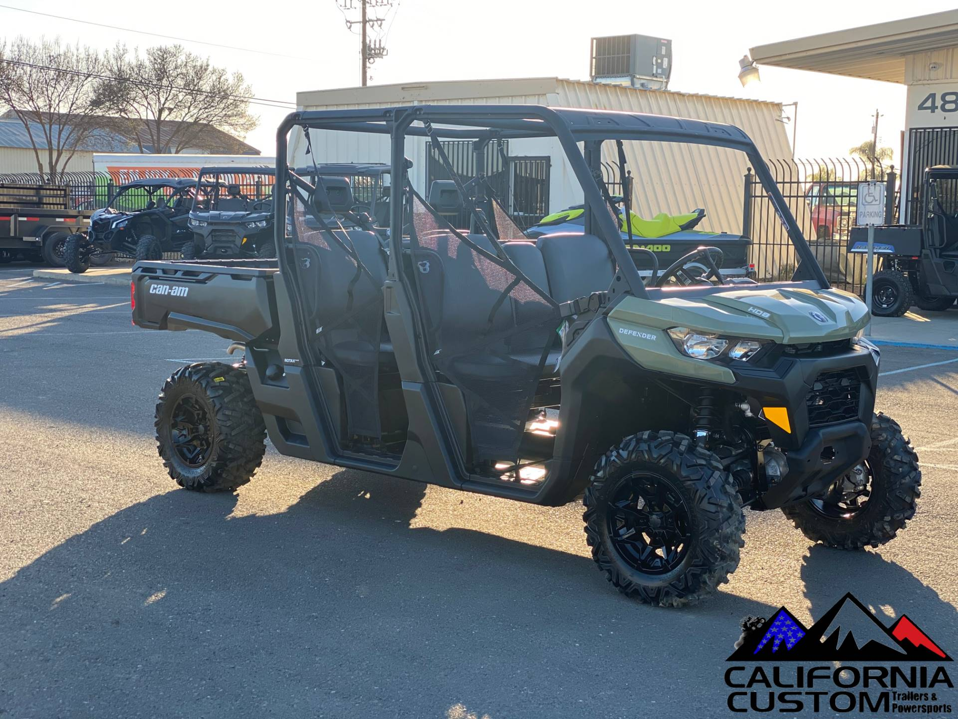 2021 Can-Am Defender MAX DPS HD8 in Merced, California - Photo 7
