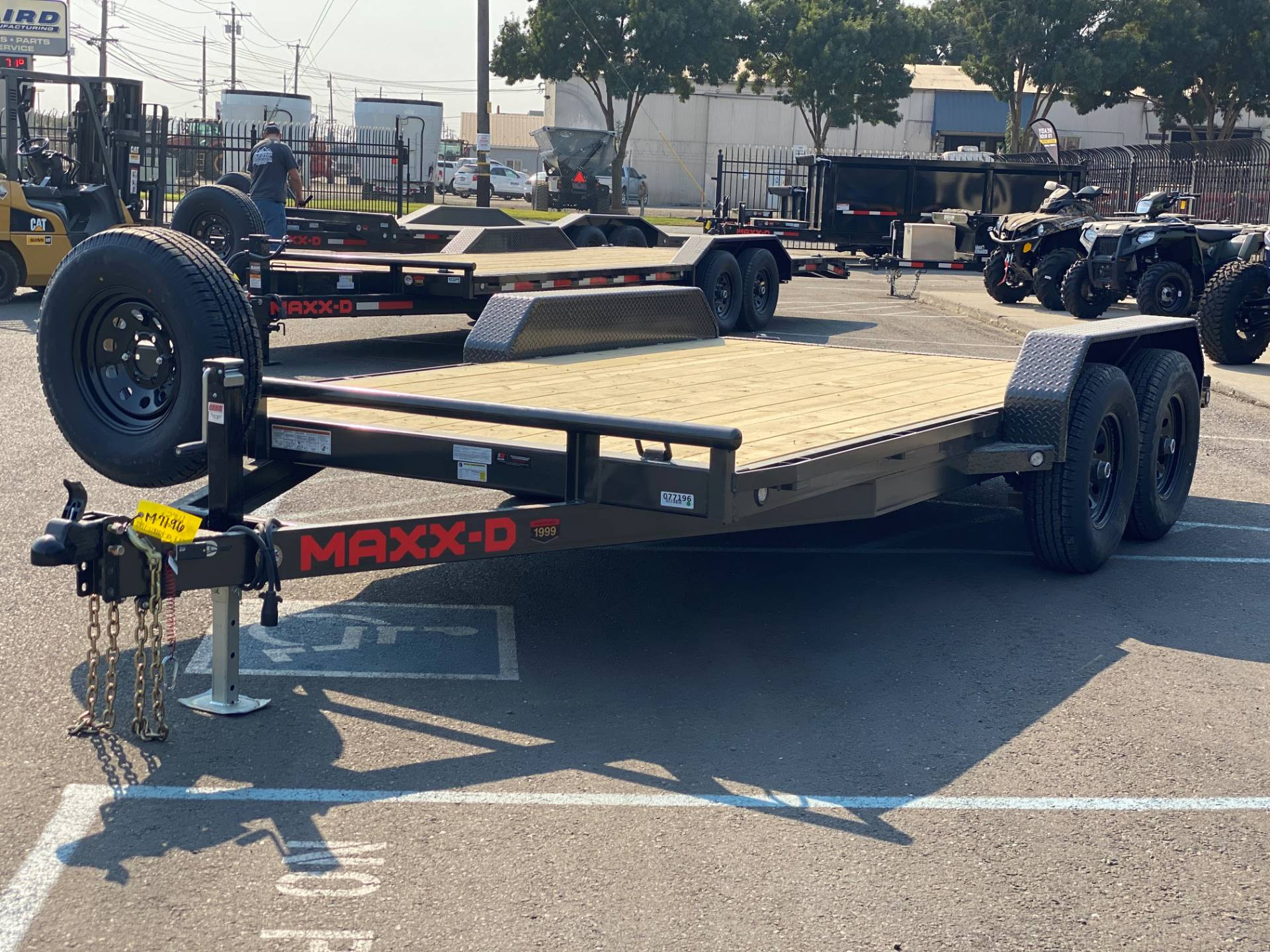 "2021 MAXEY TRAILERS 16' X 83"" - 10K CHANNEL CARHAULER in Merced, California - Photo 1"