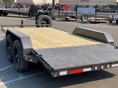 "2021 MAXEY TRAILERS 16' X 83"" - 10K CHANNEL CARHAULER in Merced, California - Photo 2"