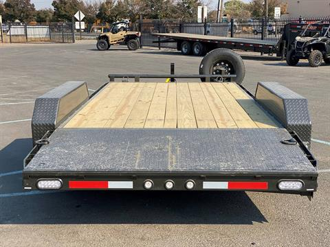 "2021 MAXEY TRAILERS 16' X 83"" - 10K CHANNEL CARHAULER in Merced, California - Photo 3"