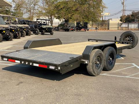 "2021 MAXEY TRAILERS 16' X 83"" - 10K CHANNEL CARHAULER in Merced, California - Photo 4"