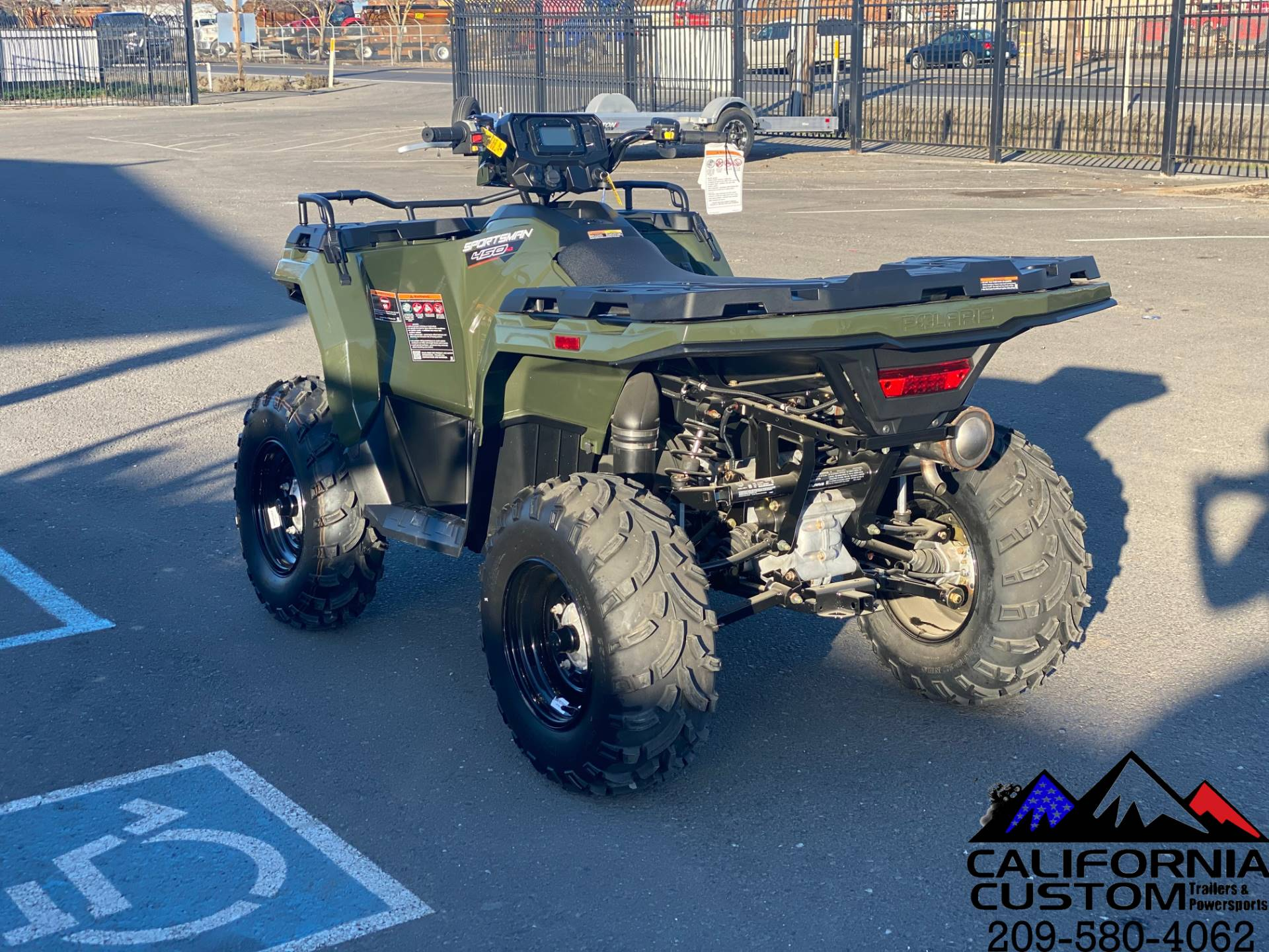 2021 Polaris Sportsman 450 H.O. in Merced, California - Photo 3