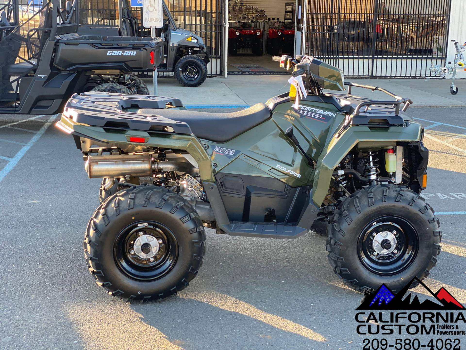 2021 Polaris Sportsman 450 H.O. in Merced, California - Photo 6