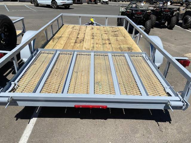 "2021 MAXEY TRAILERS 14'x77"" WS SINGLE AXLE UTILITY in Merced, California - Photo 4"