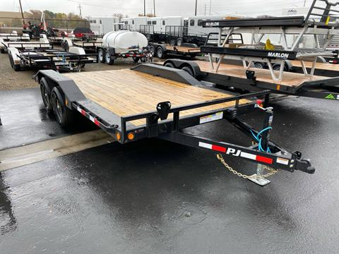 "2021 PJ Trailers 20' x 5"" Channel Buggy Hauler in Merced, California - Photo 4"