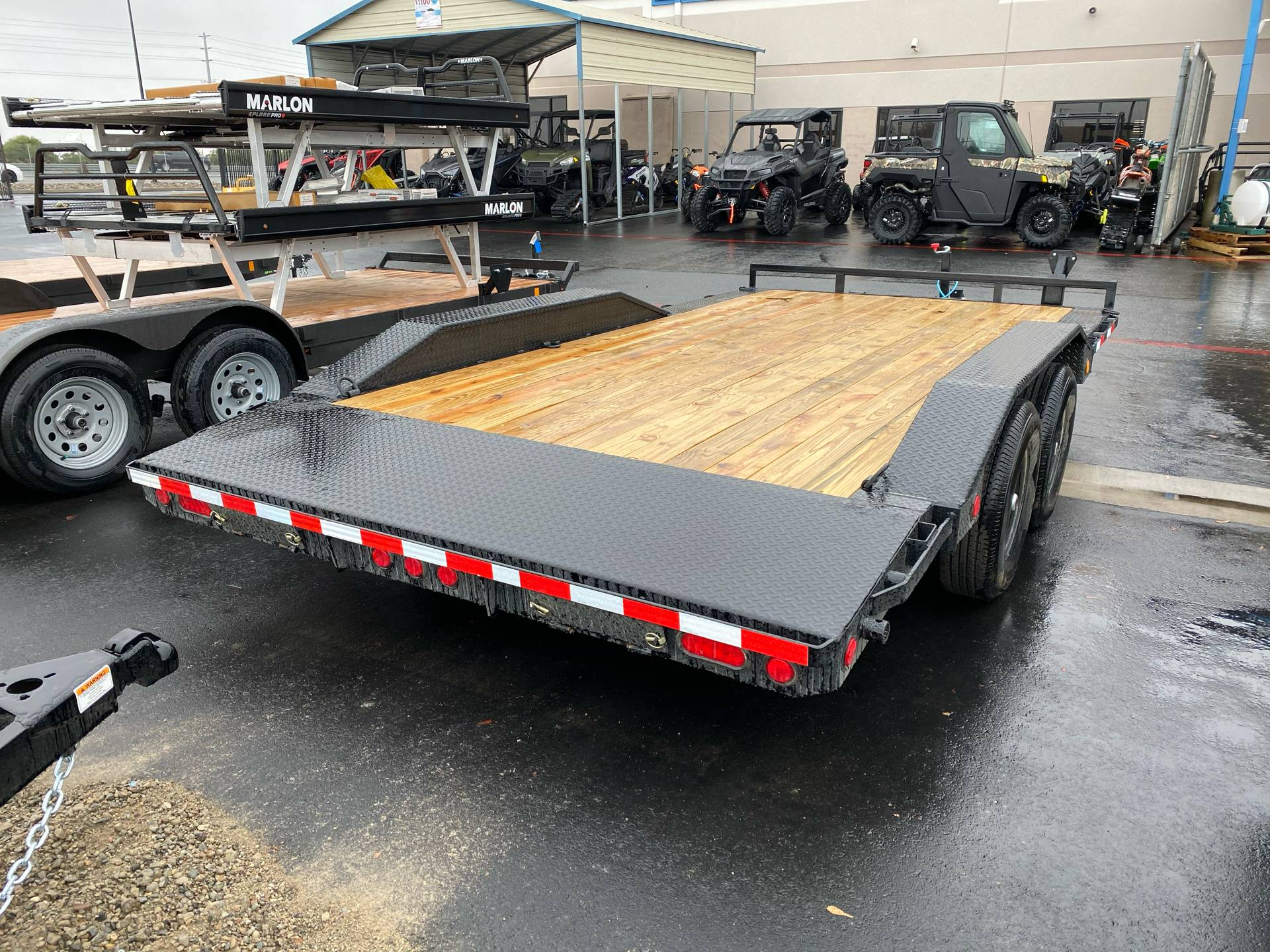 "2021 PJ Trailers 20' x 5"" Channel Buggy Hauler in Merced, California - Photo 10"