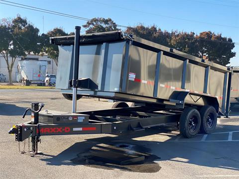 "2021 MAXEY TRAILERS 16' X 83"" - 14K 83"" TELESCOPING DUMP in Merced, California - Photo 1"