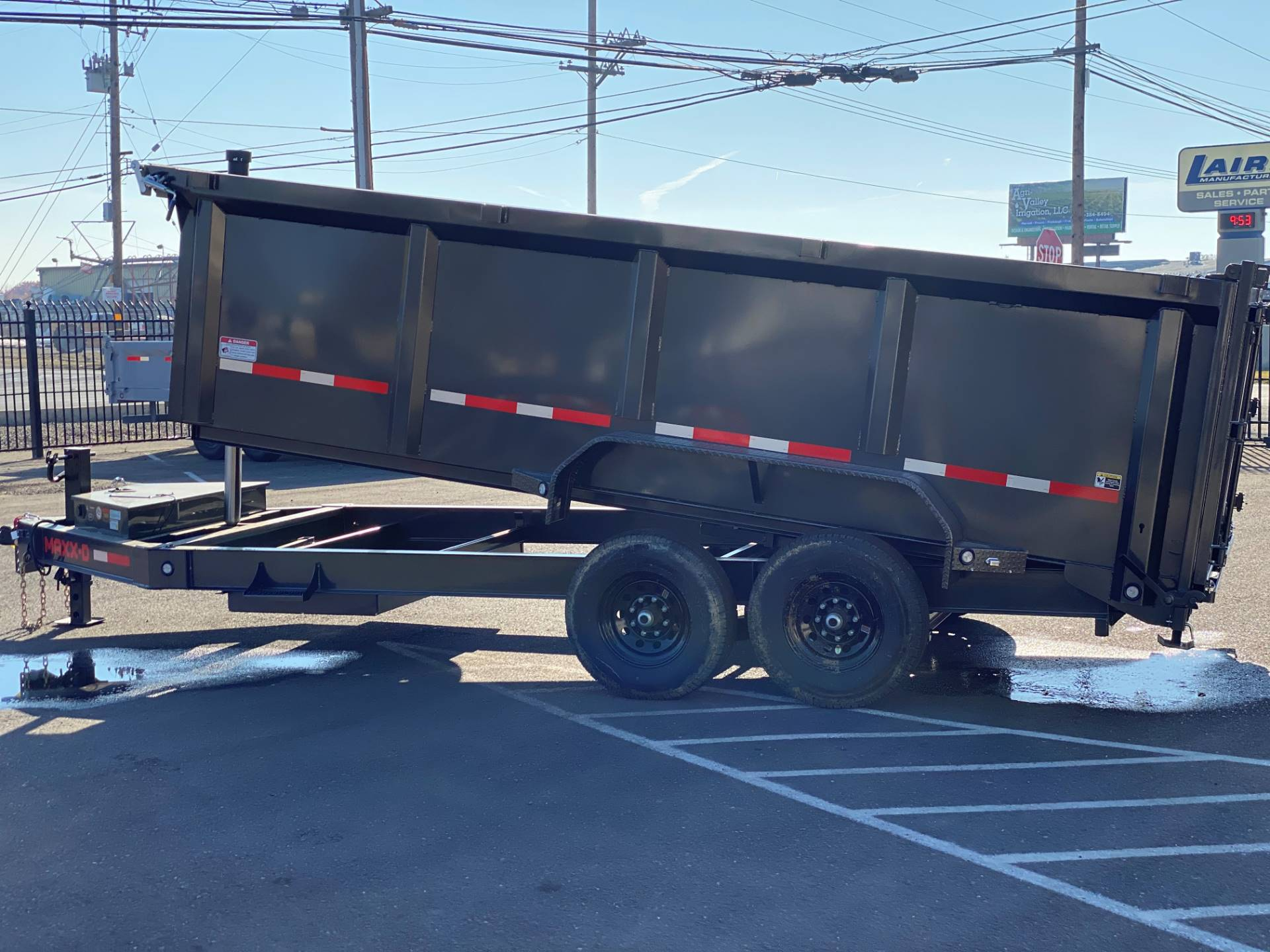 "2021 MAXEY TRAILERS 16' X 83"" - 14K 83"" TELESCOPING DUMP in Merced, California - Photo 2"