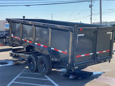 "2021 MAXEY TRAILERS 16' X 83"" - 14K 83"" TELESCOPING DUMP in Merced, California - Photo 3"