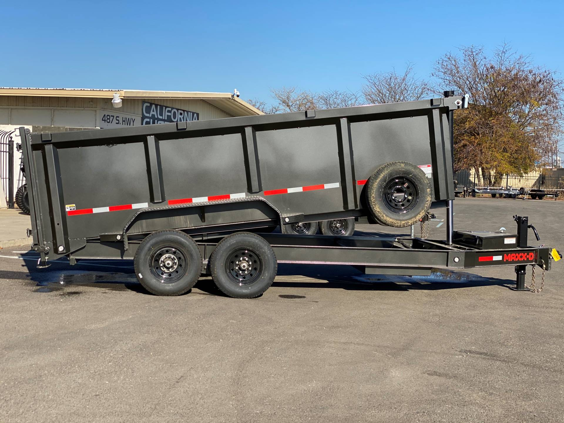 "2021 MAXEY TRAILERS 16' X 83"" - 14K 83"" TELESCOPING DUMP in Merced, California - Photo 5"