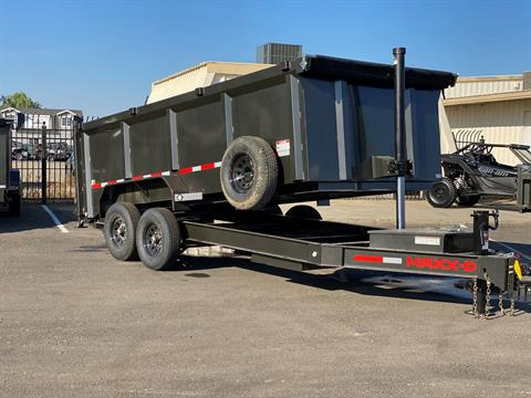 "2021 MAXEY TRAILERS 16' X 83"" - 14K 83"" TELESCOPING DUMP in Merced, California - Photo 6"