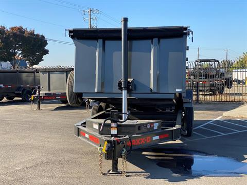 "2021 MAXEY TRAILERS 16' X 83"" - 14K 83"" TELESCOPING DUMP in Merced, California - Photo 7"