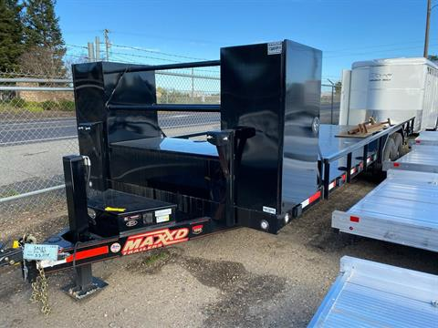 "2020 MAXEY TRAILERS 24' x 102"" - 6""CHANNEL BUUGY HAULER in Merced, California - Photo 1"