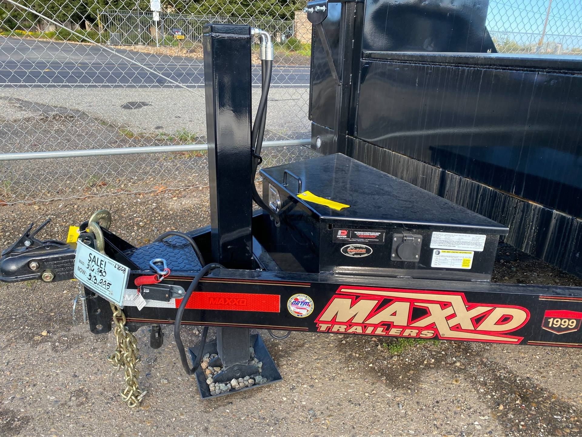 "2020 MAXEY TRAILERS 24' x 102"" - 6""CHANNEL BUUGY HAULER in Merced, California - Photo 2"