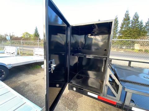 "2020 MAXEY TRAILERS 24' x 102"" - 6""CHANNEL BUUGY HAULER in Merced, California - Photo 3"