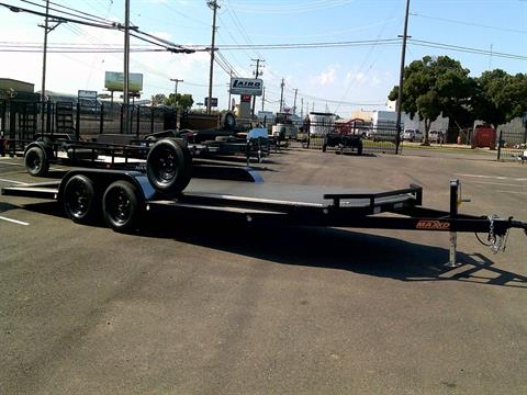 "2019 MAXEY TRAILERS 20' x 83"" 5"" TUBING CARHAULER in Merced, California"