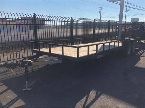 2018 Charmac Trailers 24' X 7' STEEL UTILITY TRAILER in Merced, California