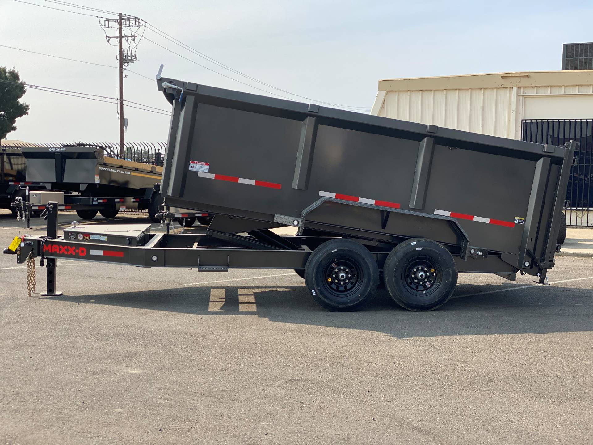"2021 MAXEY TRAILERS 14' X 83"" - 14K 83"" I-BEAM DUMP in Merced, California - Photo 2"