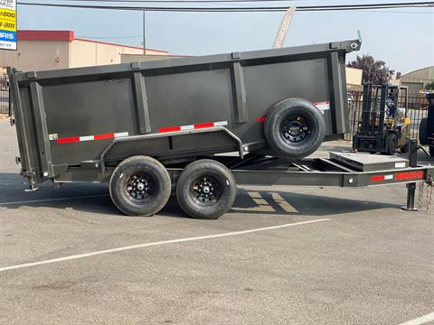 "2021 MAXEY TRAILERS 14' X 83"" - 14K 83"" I-BEAM DUMP in Merced, California - Photo 6"